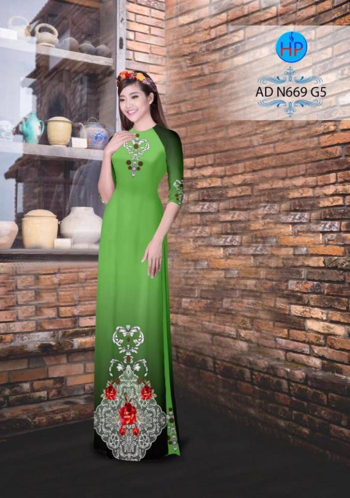 Vải áo dài AD N6694