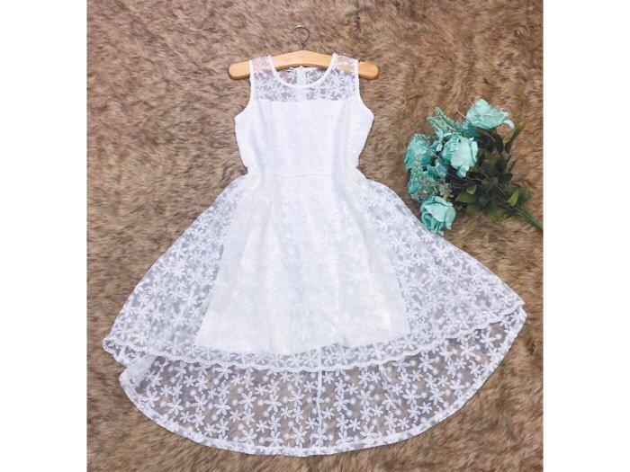 Đầm xoè ren