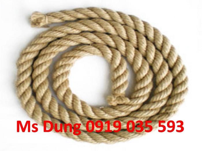 Dây thừng PP dây thừng vằn xanh đỏ dây thừng tết xoắn tròn, dây bô dây thừng đay mềm giá tốt6