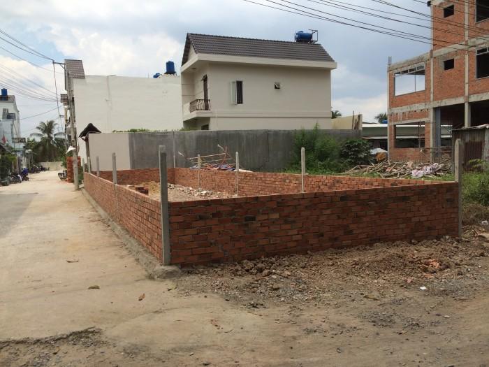 Bán đất 2 mặt tiền phường Thạnh Lộc Q12
