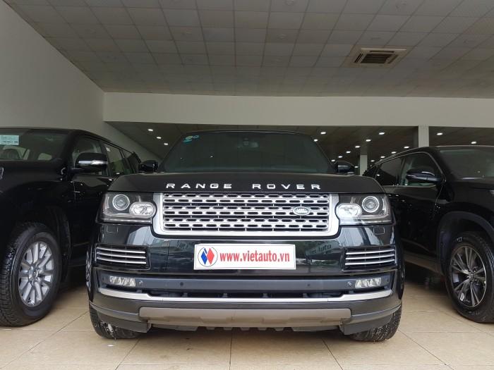 Cần bán LandRover Range Rover Autobiography LWB sản xuất 2014, màu đen, đăng ký 2016.