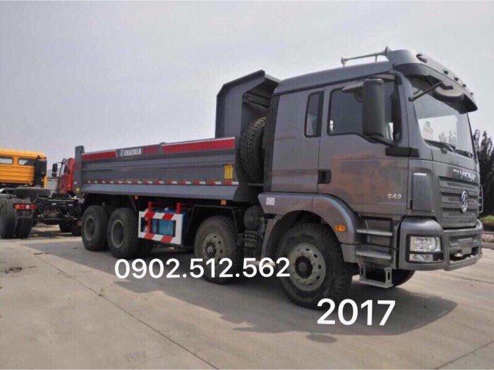 Bán xe ben shacman chính hãng 2017 tại Lâm Đồng