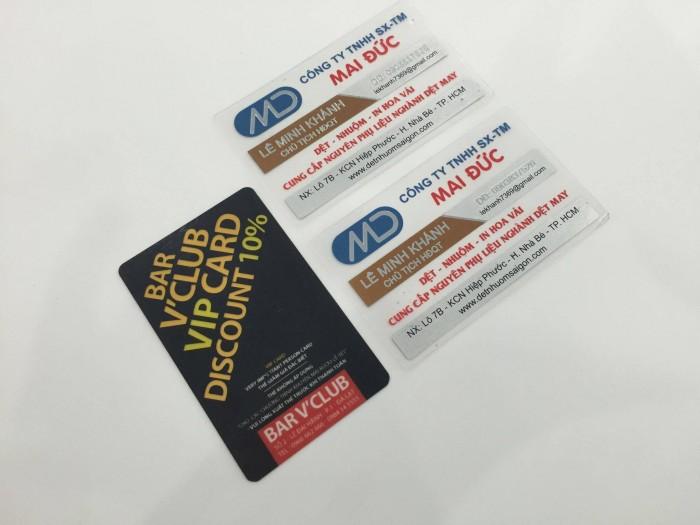 In name card nhựa giá rẻ lấy liền trong ngày, gọi cho 08 2268 6666 để được hỗ t...