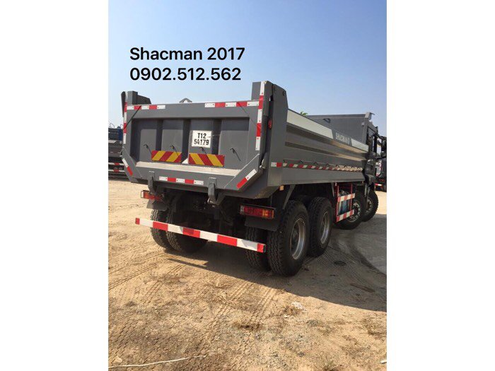 Nhập khẩu xe ben shacman 2017 ở đăk lăk
