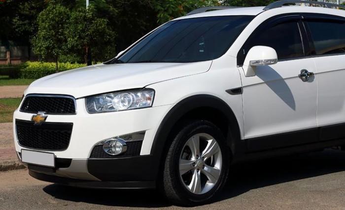 Bán Chevrolet Captiva LTZ 2013 form mới màu trắng cực mới 0