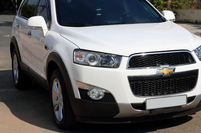Bán Chevrolet Captiva LTZ 2013 form mới màu trắng cực mới 1