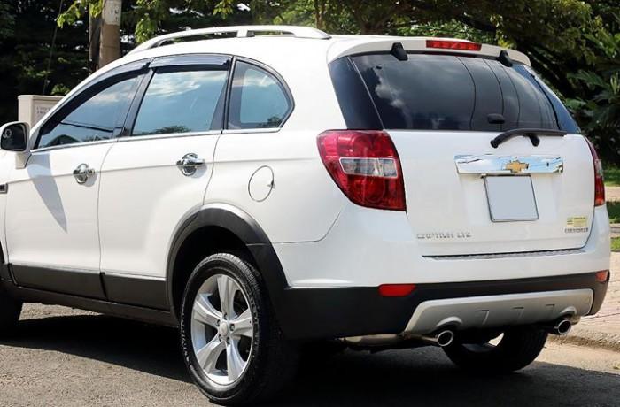 Bán Chevrolet Captiva LTZ 2013 form mới màu trắng cực mới 2