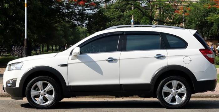Bán Chevrolet Captiva LTZ 2013 form mới màu trắng cực mới 4