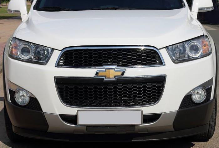 Bán Chevrolet Captiva LTZ 2013 form mới màu trắng cực mới 9