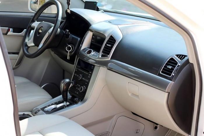 Bán Chevrolet Captiva LTZ 2013 form mới màu trắng cực mới 13