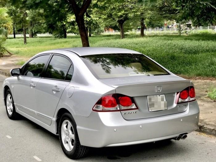 HOT - Bán Honda Civic 1.8AT đời 2012 màu bạc cực MỚI 0
