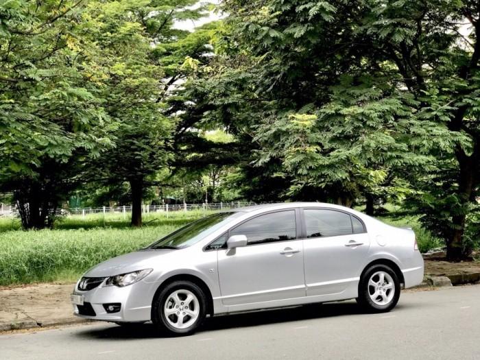 HOT - Bán Honda Civic 1.8AT đời 2012 màu bạc cực MỚI 2