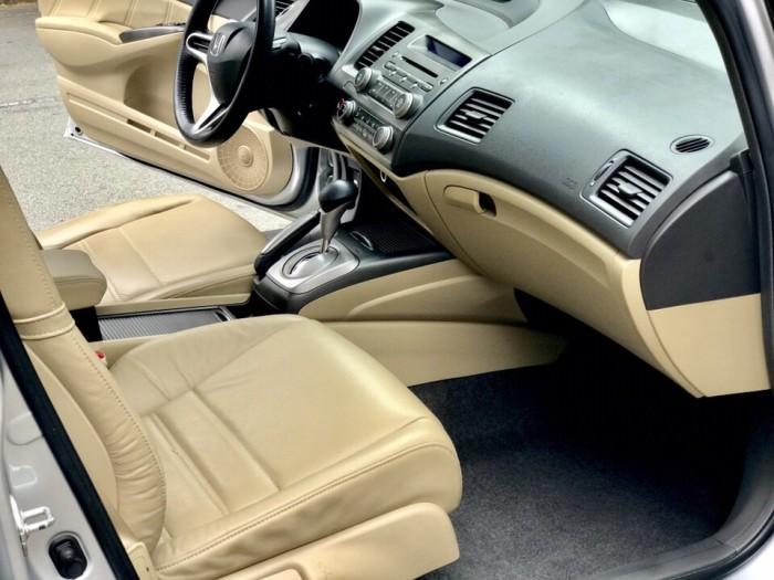 HOT - Bán Honda Civic 1.8AT đời 2012 màu bạc cực MỚI 9