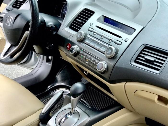 HOT - Bán Honda Civic 1.8AT đời 2012 màu bạc cực MỚI 10