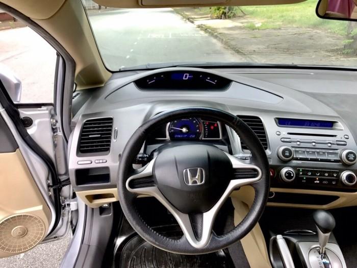 HOT - Bán Honda Civic 1.8AT đời 2012 màu bạc cực MỚI 12