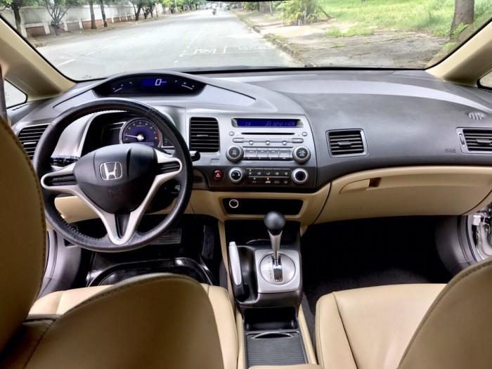 HOT - Bán Honda Civic 1.8AT đời 2012 màu bạc cực MỚI 17