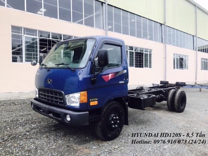 Hyundai 8,5 tấn HD120s - Giá xe Hyundai HD120S 8,5 tấn - xe 8,5 tấn HD120s giá rẻ nhất tp