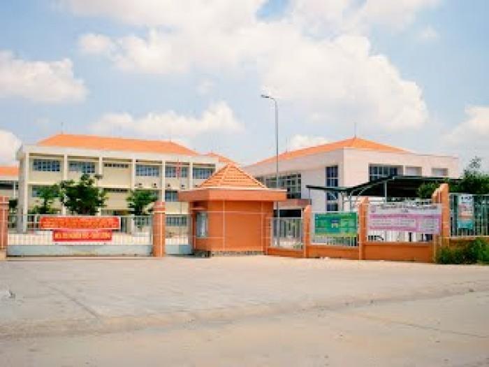 770 triệu/lô đất đối diện trường học cấp II-mặt tiền đường 15,5m