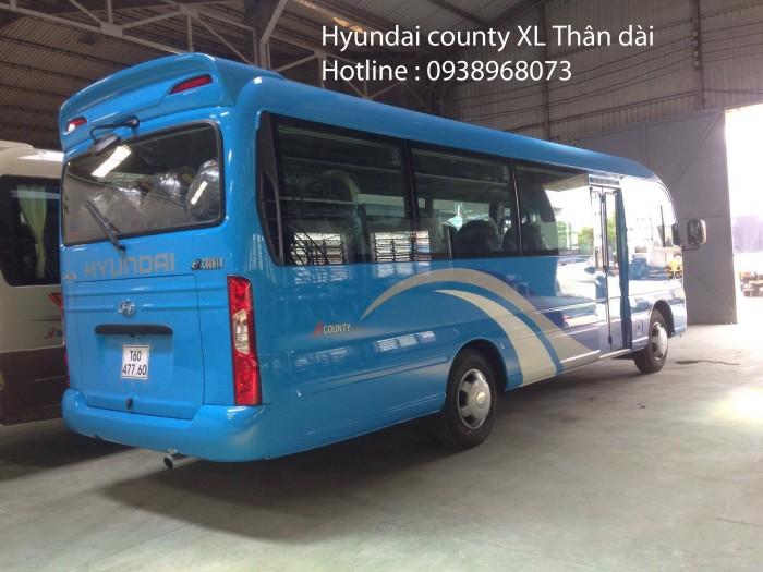 Giá xe 29 chỗ rẻ nhất -  Mua xe khách 29 chỗ giá rẻ nhất tp - Xe Hyundai county 29 chỗ giá rẻ