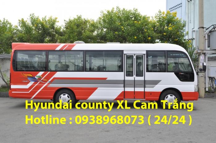 Xe khách 29 chỗ giá rẻ  - Xe Hyundai County 29 chỗ - Giá xe Hyundai County 29 chỗ