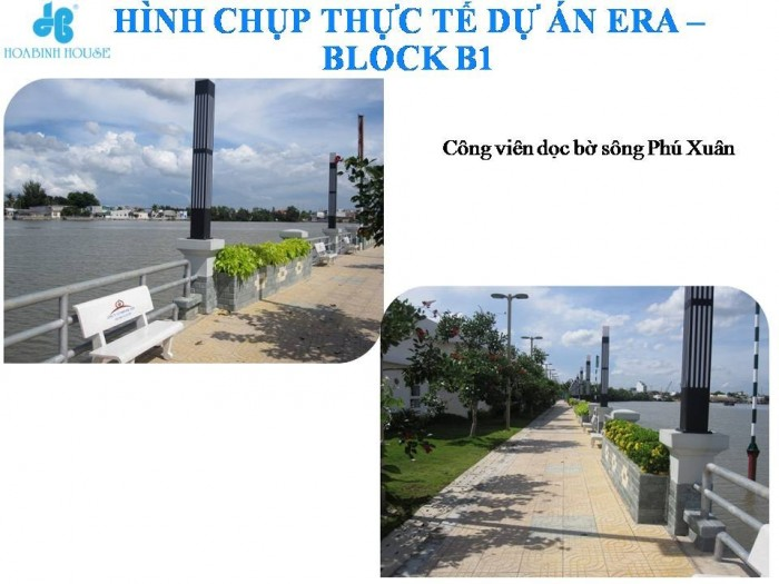 Mở bán block đẹp nhất 3 mặt giáp sông liền kề Phú Mỹ Hưng