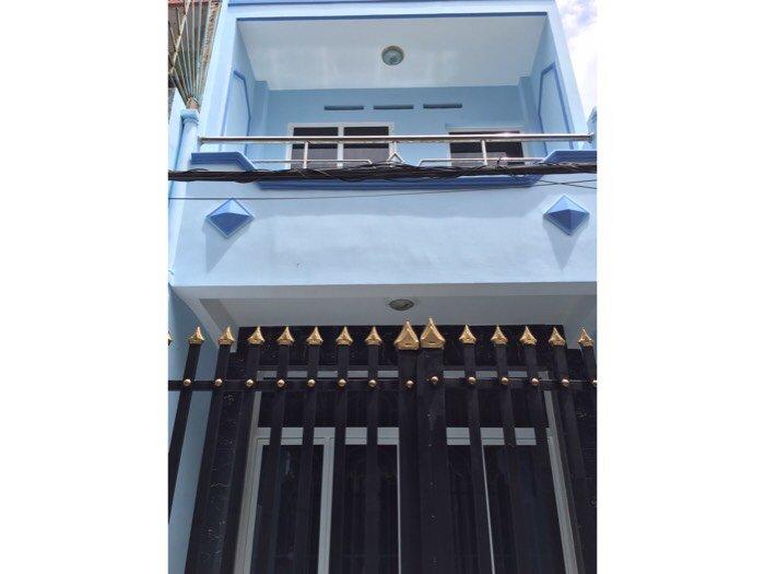 Bán nhà hẻm KDC bình Hưng ap2 gần bến xe quận 8