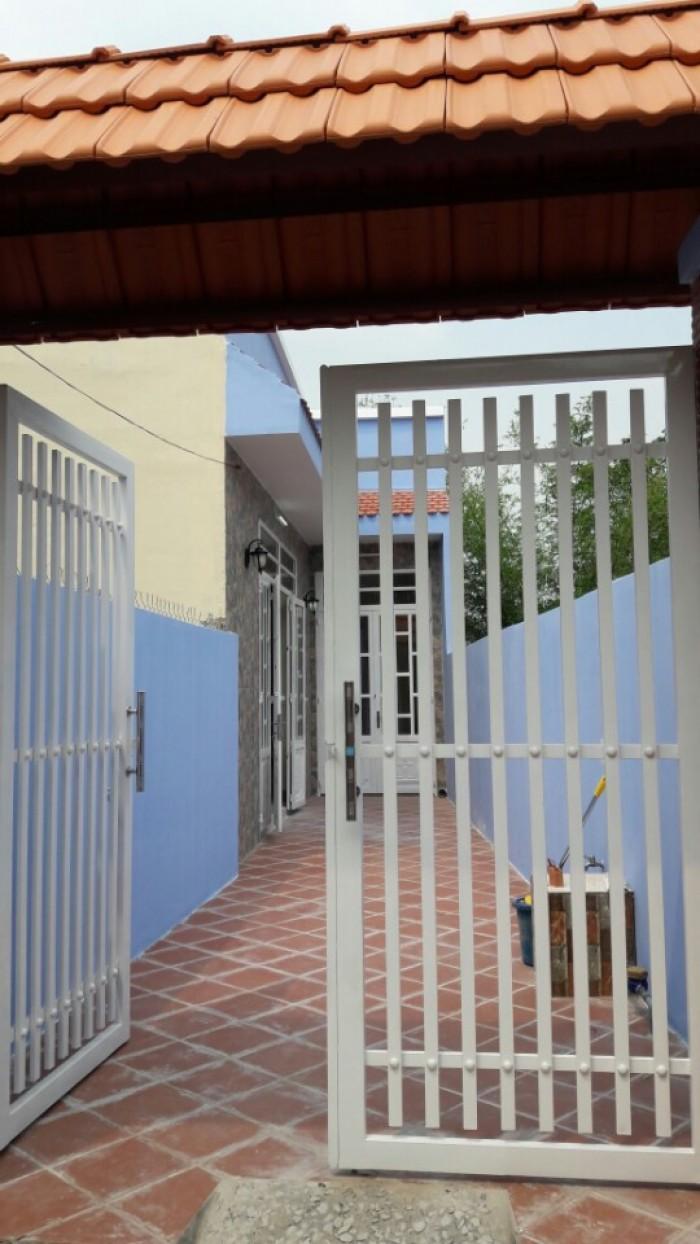 Nhà 1 Trệt 1 Lầu,Shr,500Tr/Nhận Nhà,Nguyễn Hữu Trí Cách Chợ Đệm 3Km