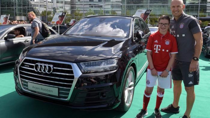 Audi Q7 sản xuất năm 2017 Số tự động Động cơ Xăng