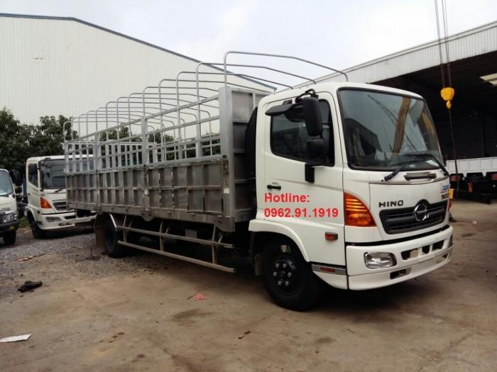 Giá xe tải Hino 6.4 tấn - Xe hino 6T4 - Hino 500 - Hino FC thùng mui bạt, thùng kín 0