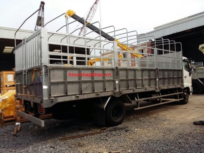 Giá xe tải Hino 6.4 tấn - Xe hino 6T4 - Hino 500 - Hino FC thùng mui bạt, thùng kín 1