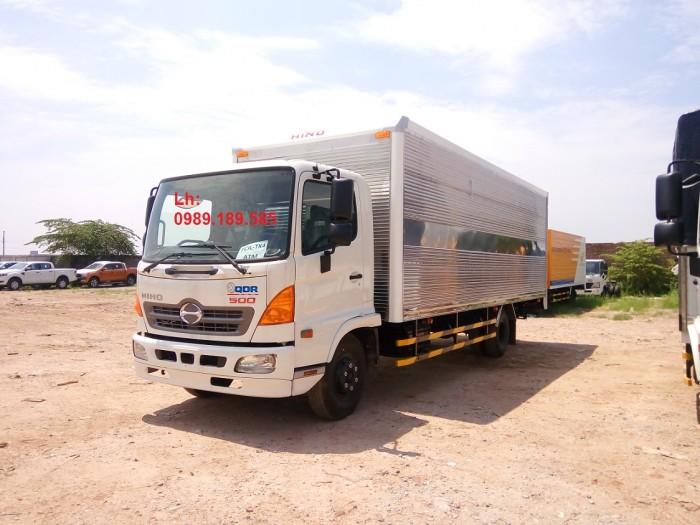 Giá xe tải Hino 6.4 tấn - Xe hino 6T4 - Hino 500 - Hino FC thùng mui bạt, thùng kín 2