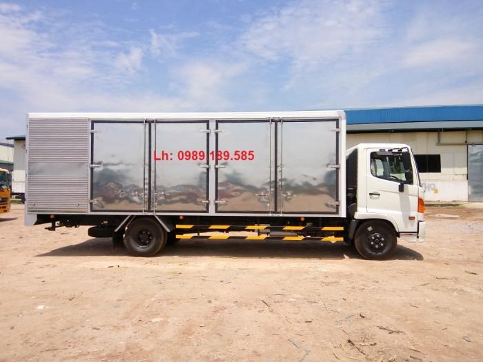 Giá xe tải Hino 6.4 tấn - Xe hino 6T4 - Hino 500 - Hino FC thùng mui bạt, thùng kín 3