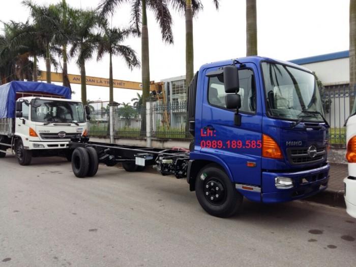 Giá xe tải Hino 6.4 tấn - Xe hino 6T4 - Hino 500 - Hino FC thùng mui bạt, thùng kín 4