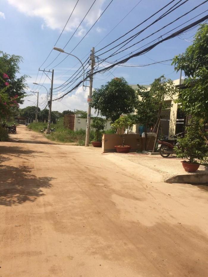 Đất thổ cư MT bờ sông Thạnh Lộc,4 x 40m, đường 7m, sổ riêng