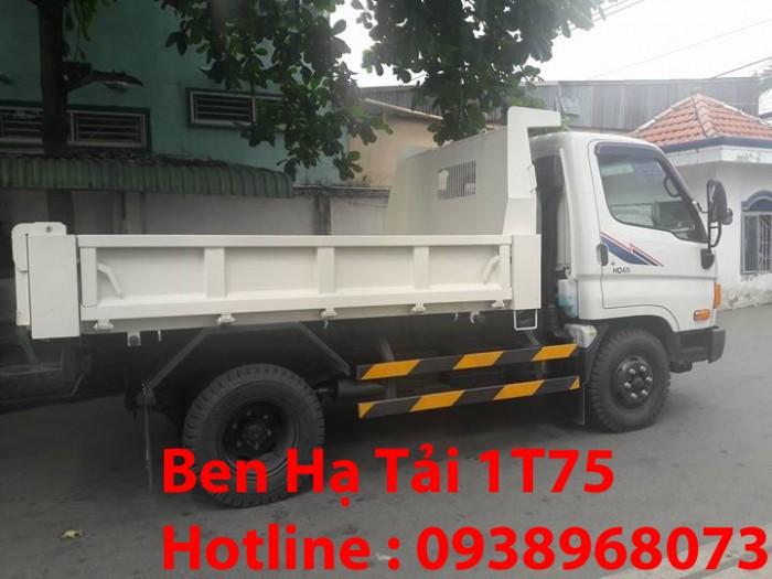 Xe Ben Hyundai HD 65 1,75 tấn vào thành phố -  Giá ben HD 65 vào thành phố rẻ nhất - Ben 1,75 tấn rẻ nhất tp - Mua ben HD 65 1,75 tấn giá rẻ