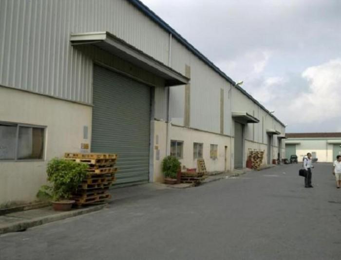 Bán đất công nghiệp có xưởng tại cụm CN Quốc Oai  18000m có bán 1/2
