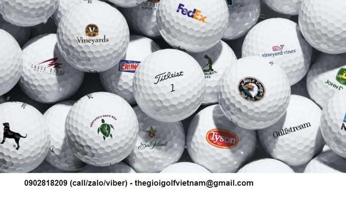 Cung cấp bóng golf và in logo lên bóng golf làm quà tặng1