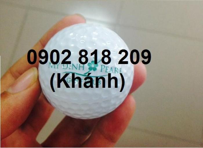 Cung cấp bóng golf và in logo lên bóng golf làm quà tặng2