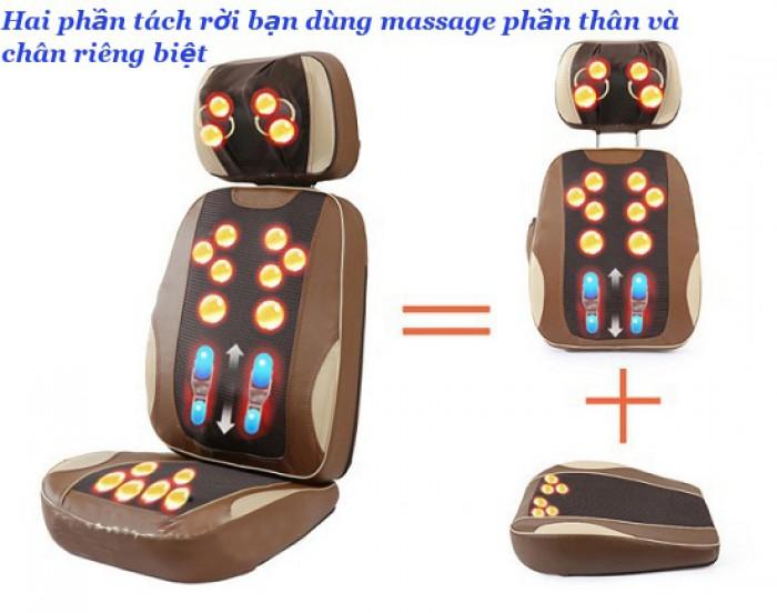 Ghế massage hồng ngoại F08 Nhật Bản