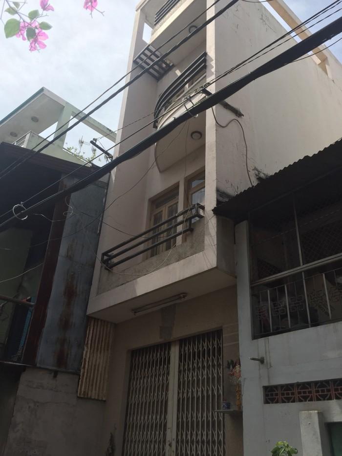 Bán nhà MT Tân Phước 3.2x12m NH 4.2m 2 lầu ST 5.4 tỷ