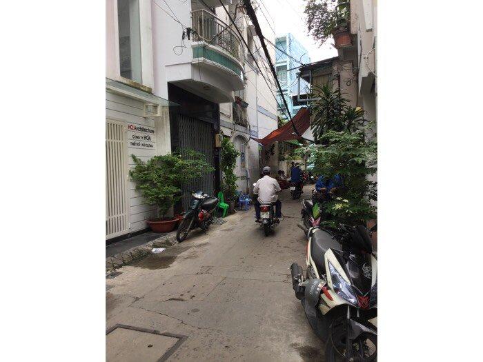 Bán nhà hxh 145 Nguyễn Thiện Thuật P1 Quận 3