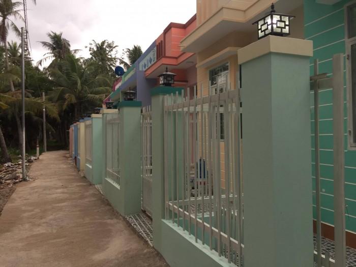 Nhà mới xây kiên cố đường Nguyễn Thị Định Phú Hưng