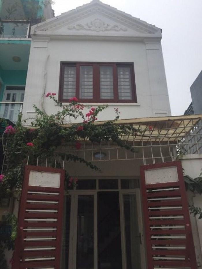 Bán nhà hẻm 1942 Huỳnh Tấn Phát, Nhà Bè, Dt 4x15m, 2 lầu. Giá 2,25 tỷ.