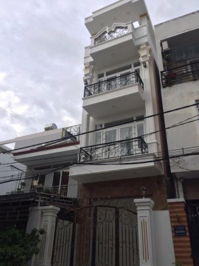 Hàng mới bán gấp nhà mặt tiền Huỳnh Tấn Phát, Q7, DT4,3x30m, 3 lầu, sân thượng.Giá 14,2 tỷ
