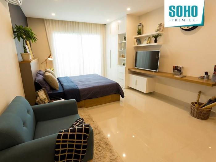 Với thiết kế 1 căn hộ vừa để ở vừa được CĐT thuê lại 8 triệu 1 tháng chỉ có ở Soho Premier