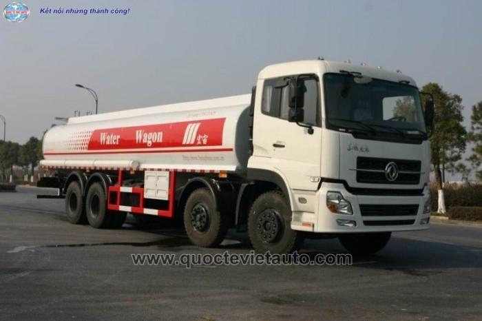 Xe tưới nước rửa đường Dongfeng 17 khối.