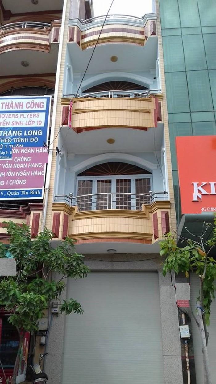 Cho thuê nhà nguyên căn mặt tiền đường Tân Trụ, phường 15, quận Tân Bình