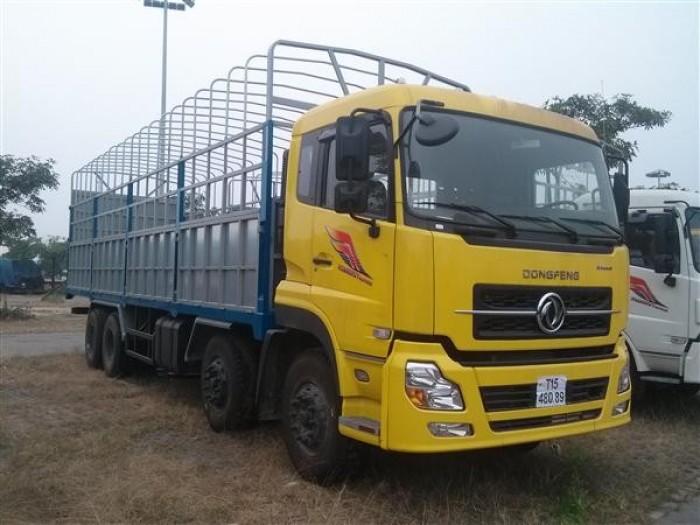 Xe tải Dongfeng Hoàng Huy 4 chân 17.9 tấn/17T9/18T/ 18 tấn xe mới 100%