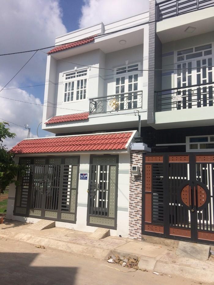 Nhà mới xây đường nguyễn văn bứa hóc môn trả góp 24t ko lãi