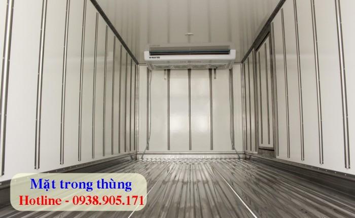 Xe tải đông lạnh 6 tấn / xe tải động lạnh Hyundai HD650 xe đời mới 2017. Bảo hành 2 năm toàn quốc. Giá xin gọi 0938905171